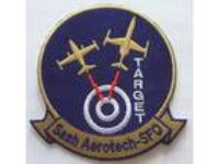 Air Military Team Target Saah Aerotech-SFO Embroidered Iron