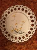 Hand painted 10 plate 70s