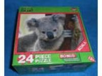 "Animal Planet 24 Pc. Puzzle - ""Koala"" - Ages 3+ - NEW"