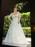 White Lace 26W Wedding Gown/Dress New never worn