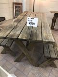 Solid heavy wood picnic table 99.99
