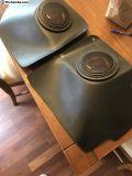 Speaker kick plates
