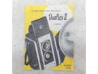 Vintage Antique Camera Manual 1950 KODAK DUAFLEX II Model
