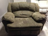 Chair and a Half Recliner Excellent Condition