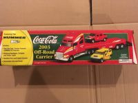 Mint in box COCO-COLA 2003 Off Road Carrier with 2 Hummers