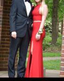 Red Sherry Hill Prom Dress