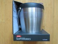 OXO SoftWorks 4 Quart Stainless Steel Double Wall Insulated Ice Bucket