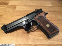For Sale: 1989 Beretta 92F with original wood grips