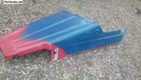 Vintage Fiberglass Railbuggy Body With Hood L TN