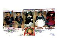 BEAUTIFUL PORCELAIN DOLLS STILL IN ORIGINAL BOXES. ...