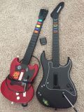 PlayStation 2 PS2 guitars $10 for both