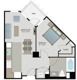 $6480 1 apartment in Metro Los Angeles