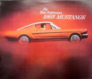 Find Original 1965 Ford Mustang Dealer Sales Brochure Fastback 2 + 2 Convertible motorcycle in Holts Summit, Missouri, United States, for US $29.65