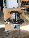 Delta brand Single bevel miter saw and table