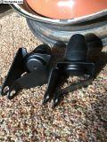 Powder coated 60+ rear axle bump stops
