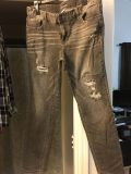 Maurices Sz 16 Grey Jean Pants
