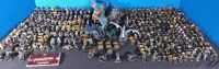 Huge Lot of 460 Whizkids Mage Knight Miniatures