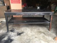 Small wood coffee table