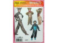Uncut Simplicity Child XS-L Gorilla Lion Bear Halloween