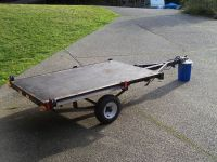 Utility trailer, flat bed or trailer