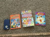 Set of 3 Pok mon books, $3.00 normal wear from reading,