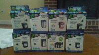 printer cartridges,3 pack assorted HP sizes. most are 3 packs,some are color.there are 26 of these.
