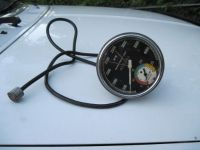Purchase VINTAGE 40S 50S 60S STEWART WARNER CURVED GLASS TACHOMETER 760 HOT ROD WOW TACH motorcycle in South Holland, Illinois, United States, for US $749.99