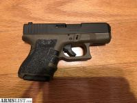 For Sale: OD green Glock 26 with Meprolight sights and IWB holster