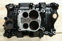 Buy Rare Chevy v6 4.3 racing nascar cast iron intake manifold high rise 4bbl camaro motorcycle in Berlin, Connecticut, United States, for US $385.00