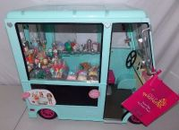 NEW our generation doll ice cream truck