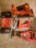 Black & Decker Firestorm Power Tool Set (with batteries!)