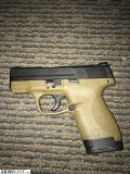 For Sale: Smith & Wesson M&P Shield 9mm FDE