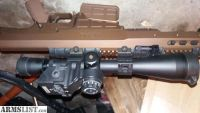 For Sale: Barrett BORS System for Leopold MK 4 Rifle Scope
