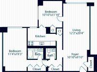 2 bedroom in Gramercy