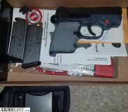 For Sale: Smith and Wesson Bodyguard 380 crimson trace