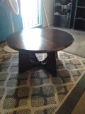 Coffee table round heavy