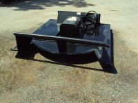 New 72 hydraulic brush mower for a skid steer loader