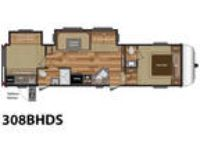 2017 Keystone RV Hideout 308BHDS