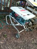 Bosch extentable table saw