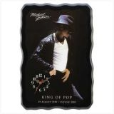 """Michael Jackson """" King Of Pop! """" - Wall Clock - Battery Operated"""