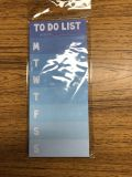 NEW! Magnetic TO DO LIST. 8.3 x 3.6 . 55 sheets