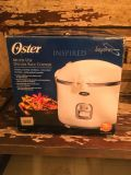 NEW Oster 20 cup Multi-Use Deluxe Rice Cooker **READ FULL DESCRIPTION BELOW