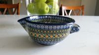 Polish pottery gravy dish