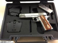 For Sale: SPRINGFIELD NOVAK 1911 LOADED STAINLESS