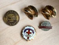 Old and new pins