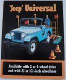 Sell 1964 Jeep Universal 4WD CJ5 CJ6 2WD DJ5 DJ6 Sales Brochure Kaiser motorcycle in Holts Summit, Missouri, United States, for US $17.65