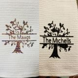Family Tree hand towels