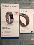 Fitbit Charge 2 + Leather band + screen protectors