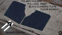 Buy POLARIS RANGER XP800 FULLSIZE black DIAMOND PLATE FLOOR 2009-14 >>FREE SHIPPING motorcycle in Elmwood Park, Illinois, United States, for US $87.95