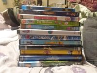 12 kids dvds. Some new. Good learning education DVDs